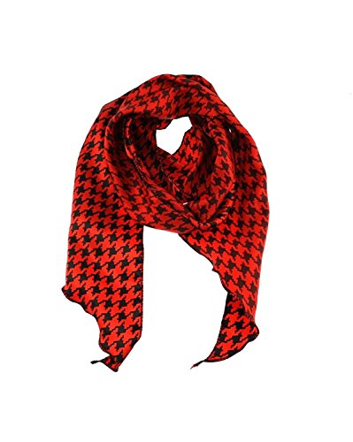Zac's Alter Ego Women's 3 In 1 Patterned Sash Scarf/Head Scarf/Neck Scarf Approx. 160 X 11Cm Red ()