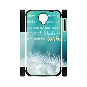 Canting_Good,Dandelion, Custom Dual-Protective Case for Samsung Galaxy S4 I9500 3D