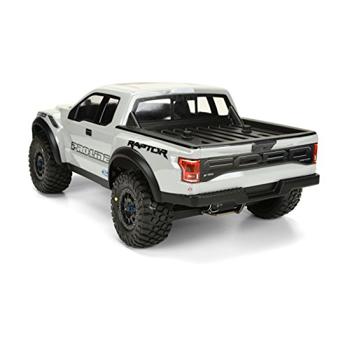 Pro-line Racing 1 10 2017 F-150 Raptor True Scale Body - Grey - (Mount Kit Required)