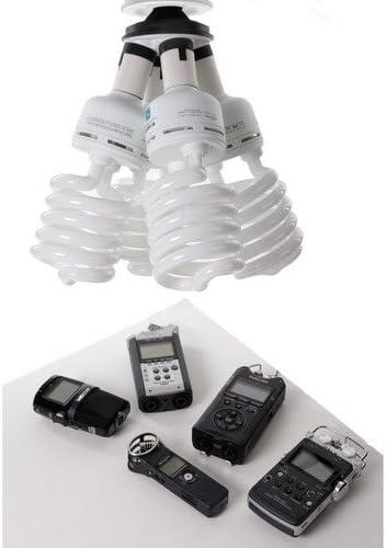 2 Pack Impact 4 Socket Fluorescent Adapter
