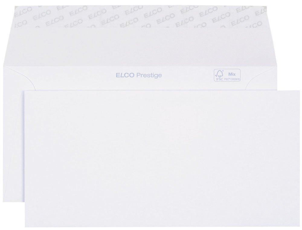 Elco 42786 Prestige Briefumschlag, Dinlang, 120 g, weiß weiß Elco AG