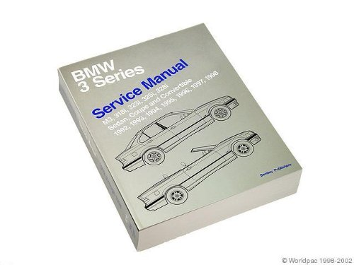 Bentley W0133-1614947-BNT Paper Repair Manual BMW 3 Series (E36) – Go4CarZ Store