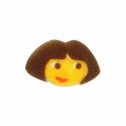 Lucks Dec-Ons Dora the Explorer Sugar Decoration for Cupcakes Cakes 12pc
