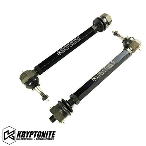 Kryptonite Death Grip Tie Rods Ends KRTR11 Compatible with 2011-2019 Chevy/GMC 2500HD 3500HD 6.6L Duramax Diesel