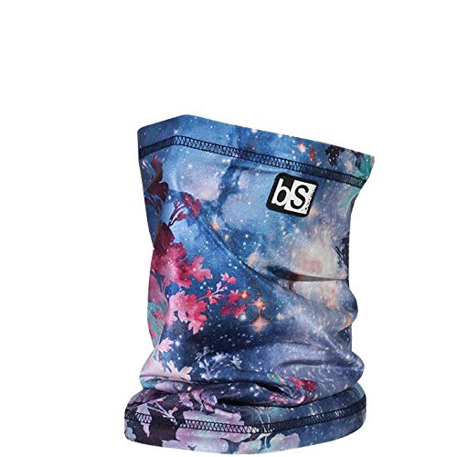 BLACKSTRAP The Tube, Dual Layer Cold Weather Neck Gaiter and Warmer for Men and Women, Floral Galaxy