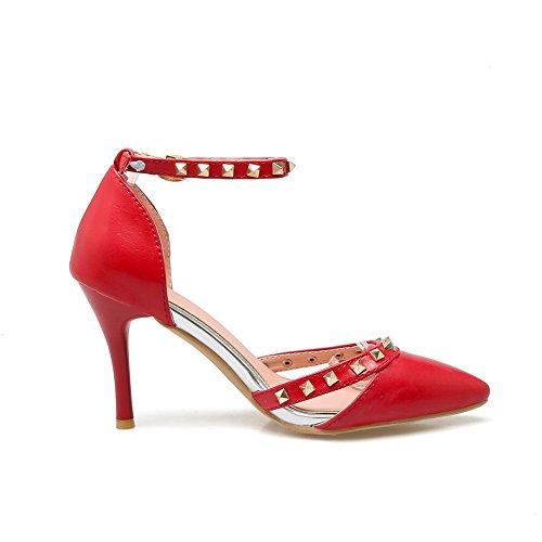 5 Compensées Sandales 36 Red Rouge BalaMasa Femme ASL05517 08gqnnx6