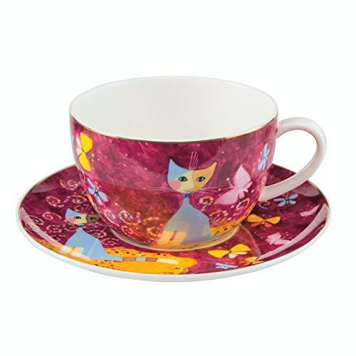 (Rosina Wachtmeister Fine Bone China Cappuccino Cup Sogno di Farfalle)