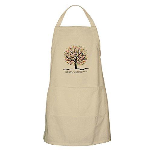 (CafePress Teacher Appreciation Quote Apron Kitchen Apron with Pockets, Grilling Apron, Baking Apron)