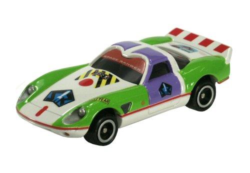 スピードウェイスター バズ・ライトイヤー(ホワイト×グリーン) 「トミカ ディズニー ピクサーモータース DM-13」の商品画像