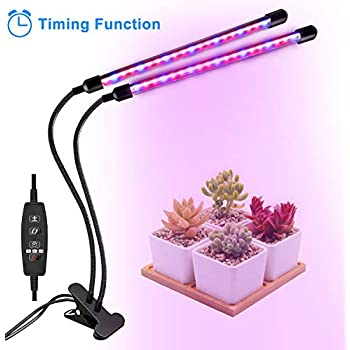 Amazon.com: Luz LED de crecimiento de 20W con 40 ledes de ...