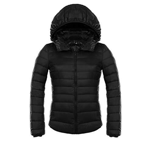 Down Warm Ultra Coat Jacket Duck Juleya Down Short Light Black Jackets Down Hooded Jacket Women Slim Coat ASwWqgU0Y