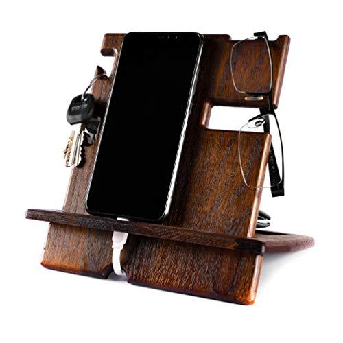 oak desk organizer - 3