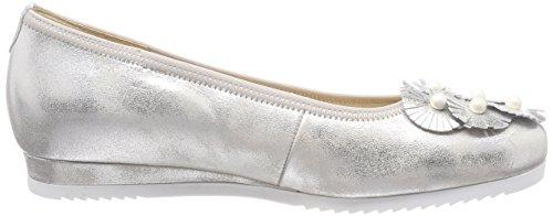Flats Gabor Sport Women's Comfort Multicoloured Silber Obl Ballet Toe Closed Mehrfarbig BqSfYwRq