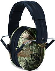 Walker's Children-Baby & Kids Hearing Protection/Folding Ear Muff, Camo Bundl