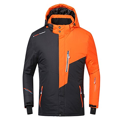 Phibee Men's Waterproof Windproof Outdoor Fleece Snowboard Ski Jacket...