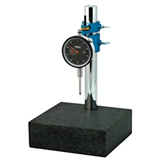 Fowler 52-580-109 AGD Black Face Indicator and Stand Combo, 0.001″ Graduation Interval, 0-1″ Measuring Range, 2.25 Dial Diameter