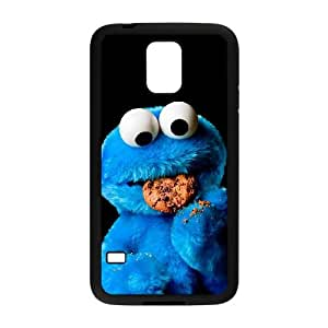 Cookie Monster Samsung Galaxy S5 Cell Phone Case Black xlb-172422