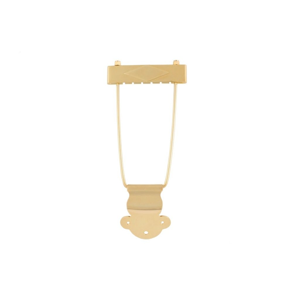 Allparts Gold Trapeze Tailpiece/6009   B004MN5S44