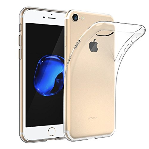 VSHOP ® iPhone 7 coque - iPhone 7 Case etui avec TPU doux transparent (avec absorption des chocs)