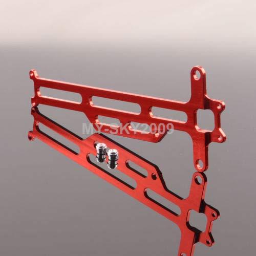 (FidgetGear 1pcs Aluminum Radio Tray 736056 for RC Model FS Toys 1/18 Electric Bigfoot Truck Red)
