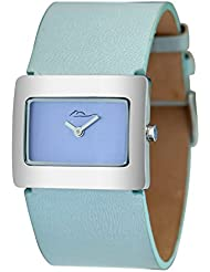 Moog Paris Supra Womens Watch with Blue Dial, Blue Strap in Genuine Leather - M41642-001