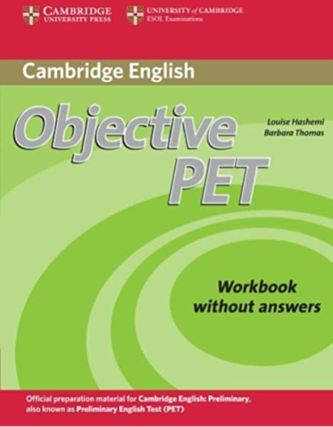 Objective PET Workbook without answers Second edition: Amazon.es ...
