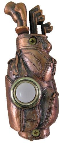 Waterwood Bronze Plated Golf Doorbell