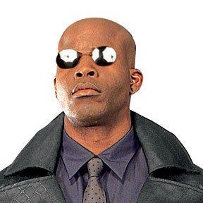 Rubie's Costume Co Matrix 2 Morpheus Glasses - Sunglasses Morpheus