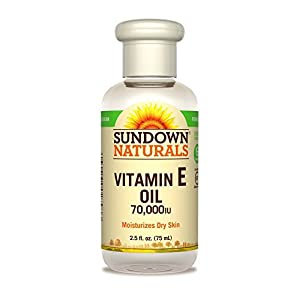 Sundown Naturals Vitamin E Oil 70000 IU, 2.5 Fluid Ounce