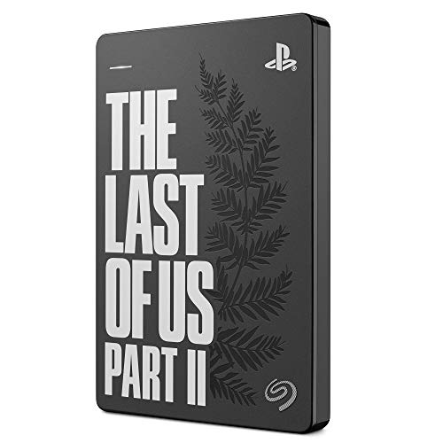 Seagate Game Drive for PS4 2TB External Hard Drive Portable HDD – USB 3.0 The Last of Us II Special Edition, Designed…