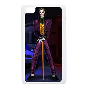 The Joker Comic iPod Touch 4 Case White Exquisite designs Phone Case KM496H92