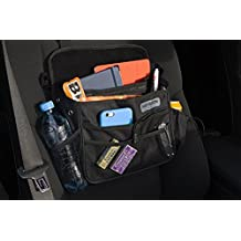 Front Seat Car Organizer by MayBron Gear, Mobile Office, Practical Portable Car Companion With Multiple Compartments, Tidy Up Your Ride