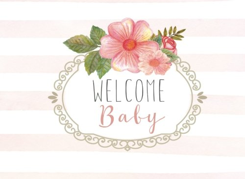 Welcome Baby!: Rustic Baby Shower Guest Book with BONUS Gift -