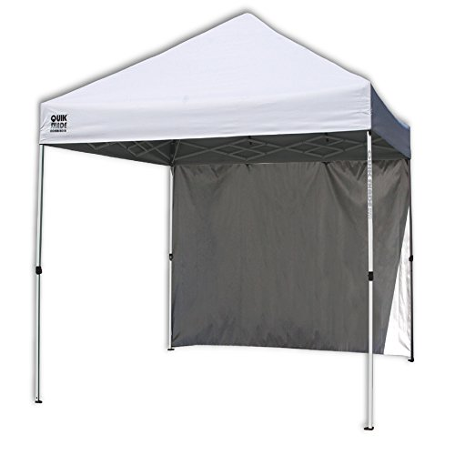 Quik Shade Commercial C100 10x10 Instant Canopy With Wall Panel