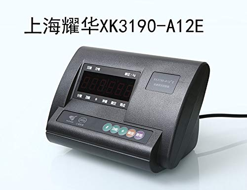 (Lysee XK3190-A12+E instrument weighing display controller electronic small weigher scale table head - (Color: Connect the computer))