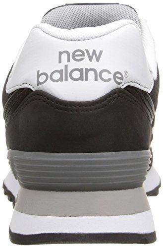 ... Ny Balanse Menns Ml574 Akryl Pakke Klassisk Sneaker Svart ...