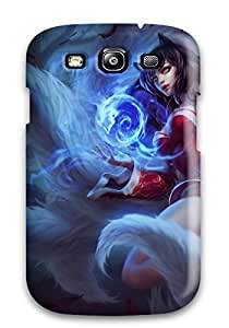 Best Galaxy Cover Case - New Ahri Protective Case Compatibel With Galaxy S3 7334004K54182013