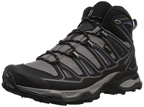 Salomon Women's X Ultra Mid 2 W Spikes GTX Snow Boot, Detroit/Black/Artist Grey-X, 8.5 M US