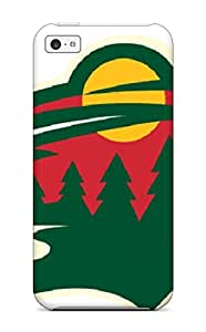 XiFu*MeiTpu Case Cover Compatible For iphone 4/4s/ Hot Case/ Minnesota Wild Hockey Nhl (11)XiFu*Mei