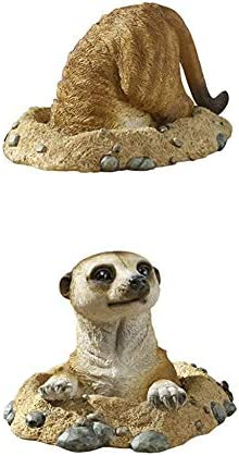 Design Toscano S/Meerkat INTO Out of Hole