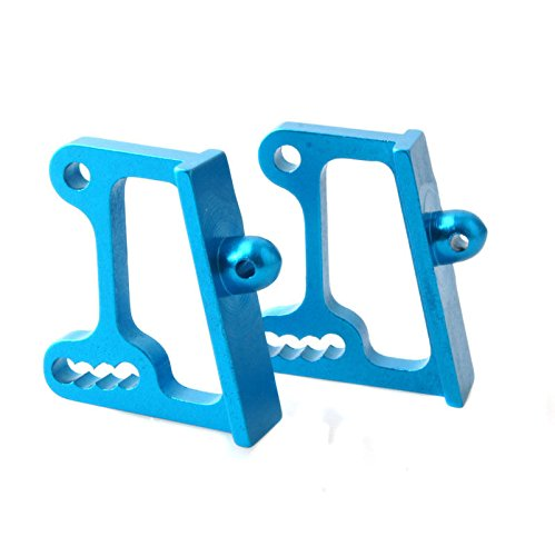 Toyoutdoorparts RC 166045(06020) Blue Alum Wing Adjustable Mount for HSP 1/10 Off-Road ()
