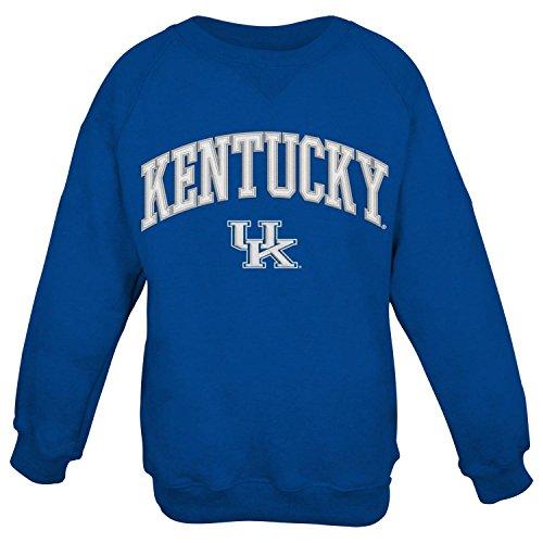 Kentucky Wildcats NCAA Embroidered Crew Men's Sweatshirt - Blue