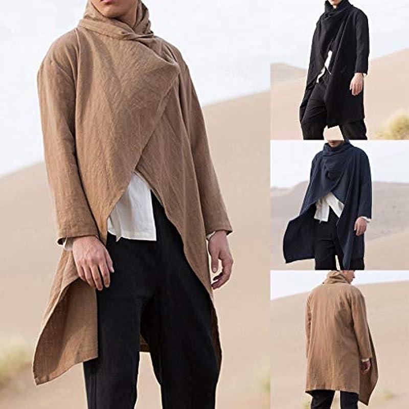 Dasongff męska kurtka z dzianiny, kardigan, o wyglądzie lnu, kurtka, długi płaszcz, stÓjka, rum, koszula, sweter, casual, wiatrÓwka, lekka odzież wierzchnia, xxxl: Duże urządzenia