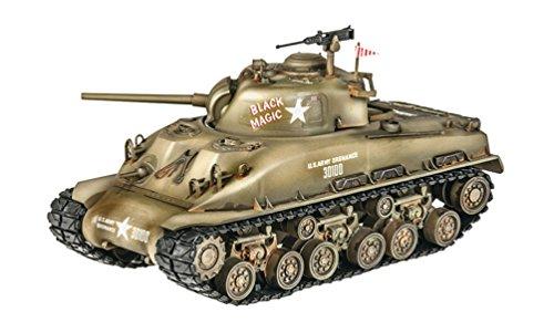 Revell M4 Sherman Tank Model Kit Building