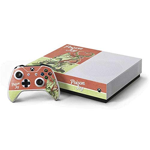 Skinit Bombshells Xbox One S All-Digital Edition Bundle Skin - Officially Licensed DC Comics Gaming Decal - Ultra Thin, Lightweight Vinyl Decal Protection