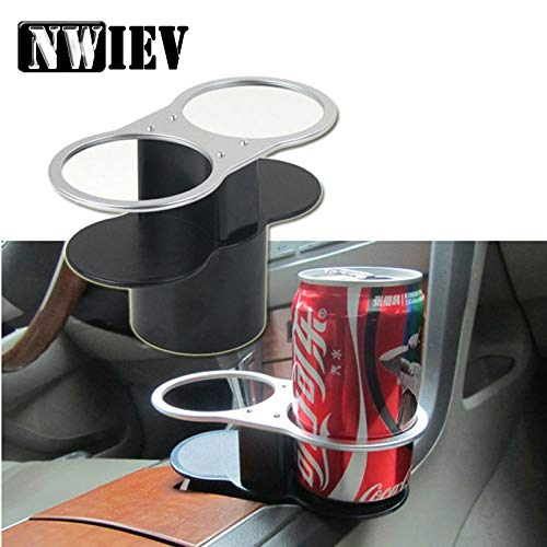 NWIEV 1Pc Car Water Cup Holder Double Mouth for Lada Granta Vesta Volvo XC60 S60 XC90 V70 Peugeot 307 206 207 407 508 2008 406