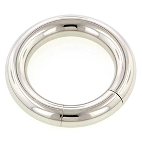 Surgical Steel Smooth Segment Ring - 4.0mm (Smooth Segment Rings)