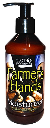 The Lotion Company Farmer's Hands Therapeutic Hand Creme, Vanilla Musk, 8 Fluid -