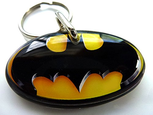 BATMAN Pet ID Tags Dog Tags CAT TAGS BRUCE WAYNE (Small 1.5