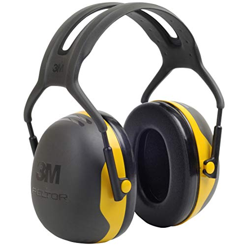 3M Peltor X2A Over-the-Head Ear Muffs, Noise Protection, NRR 24 dB, Construction, Manufacturing, Maintenance, Automotive, Woodworking from 3M